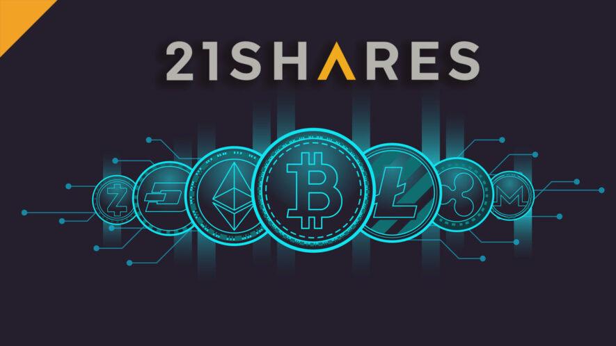 Firma 21Shares zarządza ponad 1 miliardem dolarów w kryptowalutach