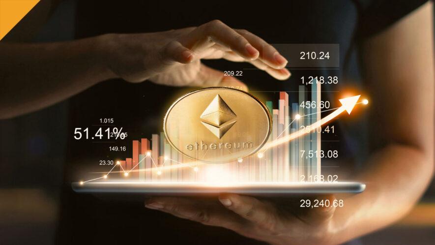Cena Ethereum (ETH) osiągnęła dziś nowy rekord wszechczasów