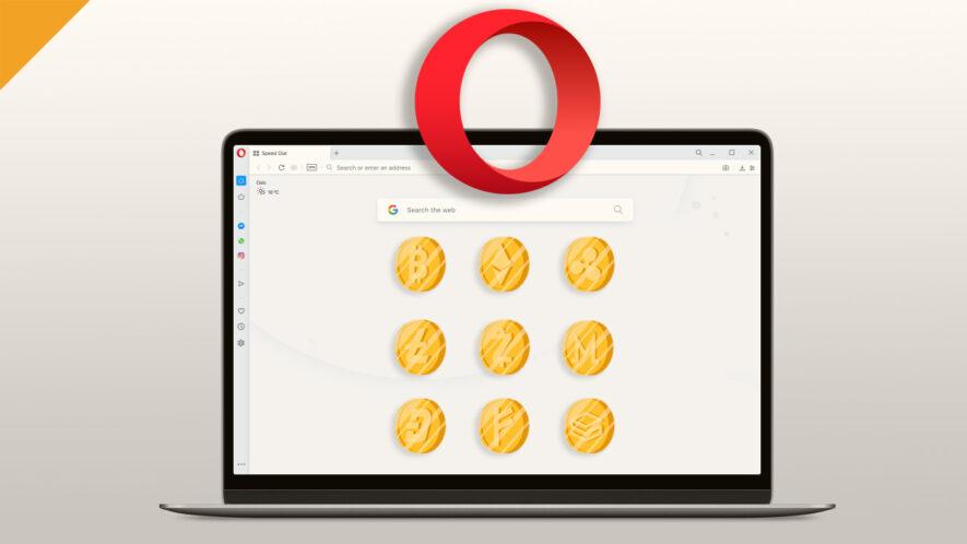 Użytkownicy będą mogli szybko kupować i sprzedawać szereg kryptowalut w przeglądarce Opera