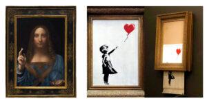 popularne dzieła sztuki a NFT