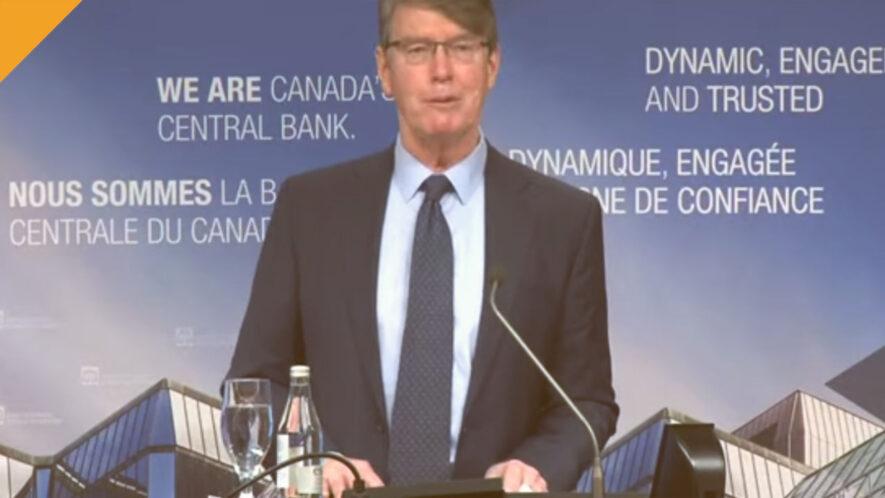 Prezes centralnego banku kanady nazwał hossę bitcoina spekulacyjnym szaleństwem