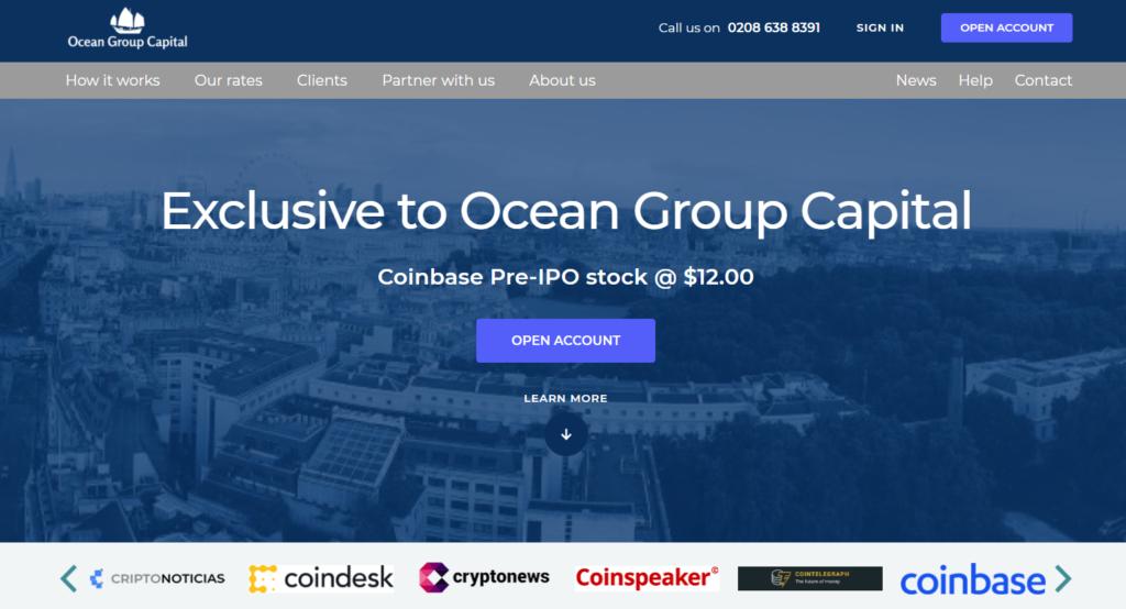 Fałszywe IPO giełdy kryptowalut Coinbase