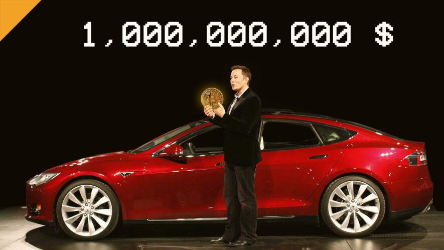 Tesla mogła zarobić 1 mld USD na zakupie bitcoinów
