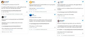 Przejęte konta w ataku na Twitter