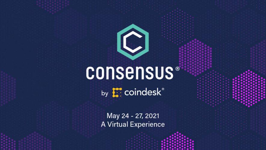 Wydarzenie wirtualne o kryptowalutach - consensus od coindesk