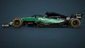 F1 aston martin