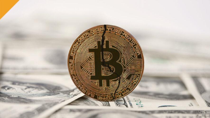 Kapitalizacja rynkowa BTC spada poniżej 1 biliona dolarów