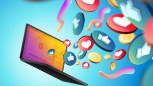 social media potencjalnym problemem w branży kryptowalut