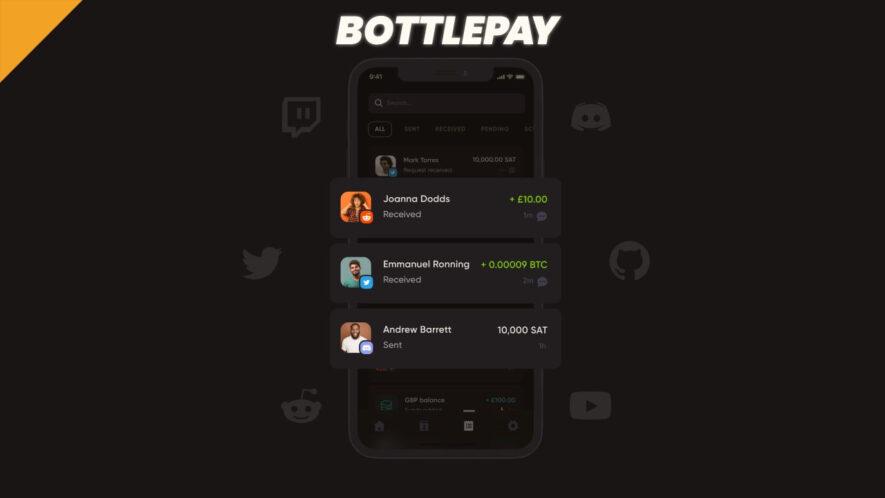 Szybkie płatności BTC na Twitterze za pomocą Bottlepay