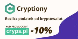 Cryptiony – proste rozliczanie podatków od kryptowalut