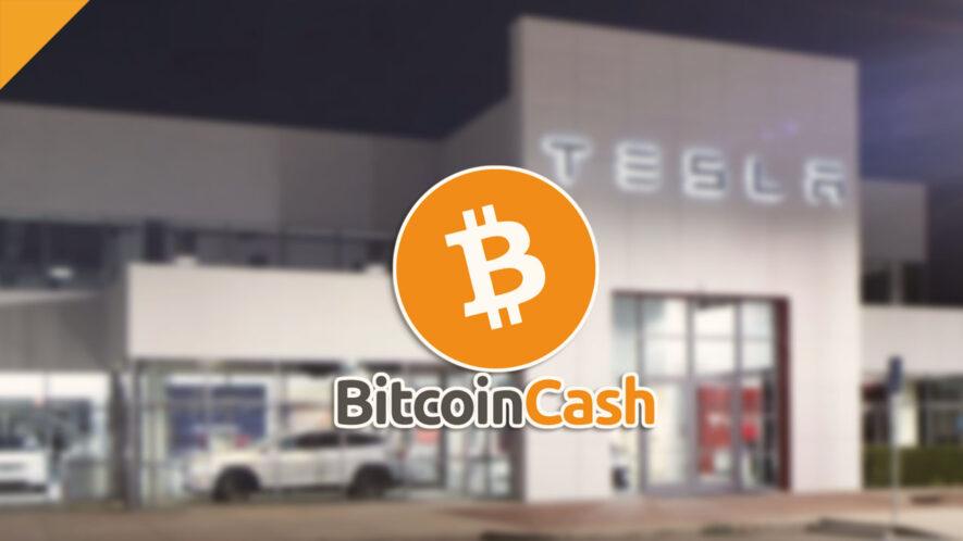 Propozycja kupna 111 samochodów Tesli za BCH