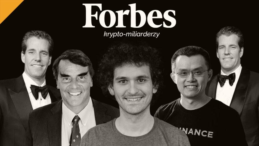 Kryptowalutowi miliarderzy Forbesa