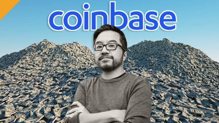 Złota inwestycja Garrego Tana w Coinbase