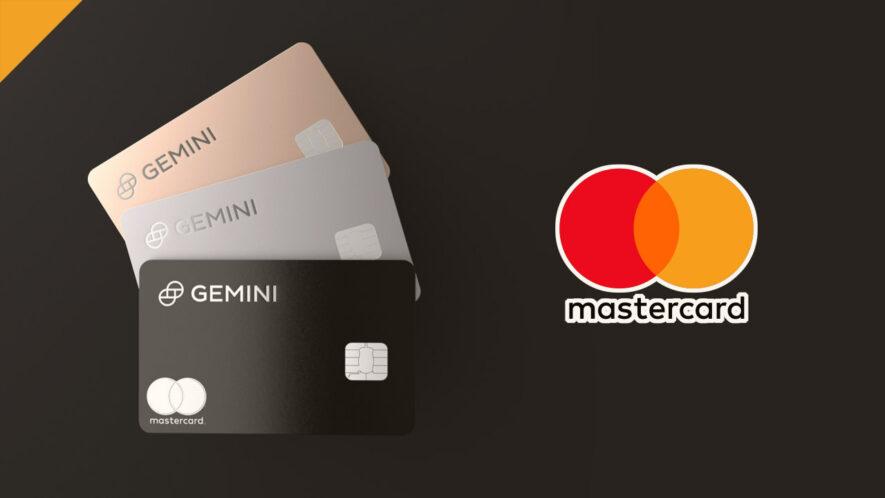 Gemini uruchomi premiowy cashback BTC na karcie kredytowej Mastercard