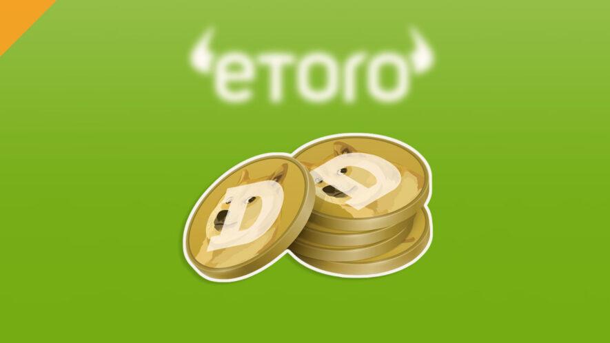 Dogecoin bije rekordy po debiucie na eToro