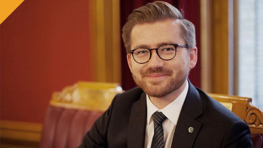 norweski minister środowiska posiada bitcoin Sveinung Rotevatn