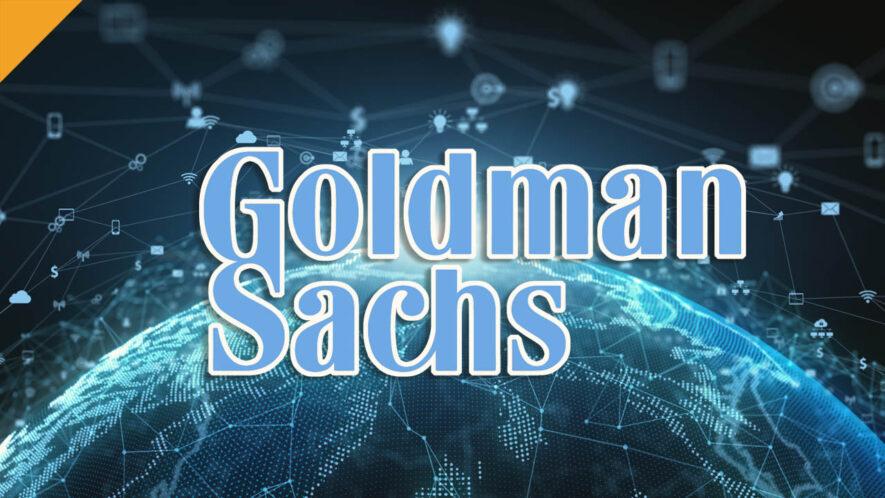 Goldman Sachs wspiera finansowanie firmy kryptograficznej