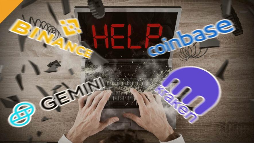 Skargi użytkowników na przerwy w pracy giełd podczas załamania rynku