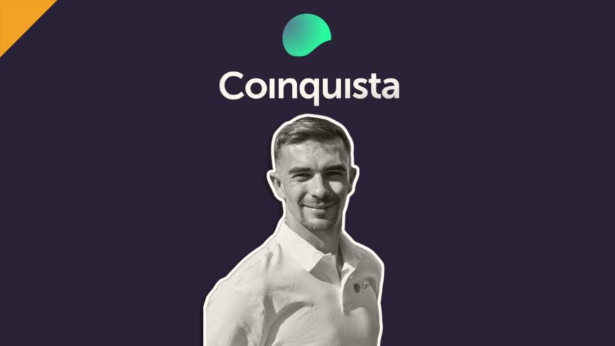 w wywiadzie z Michałem Stryjewskim o wydarzeniach na giełdzie kryptowalut Coinquista oraz tym czy giełda ma jakąś przyszłość