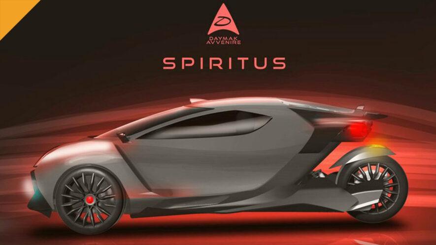 Auto elektryczne Daymak Spiritus będzie wydobywać kryptowaluty