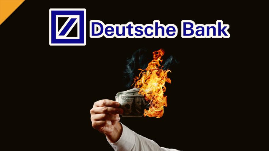 Deutsche Bank ostrzega przed inflacją