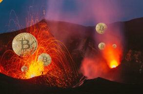 Salwador zasili wydobycie BTC energią z wulkanu