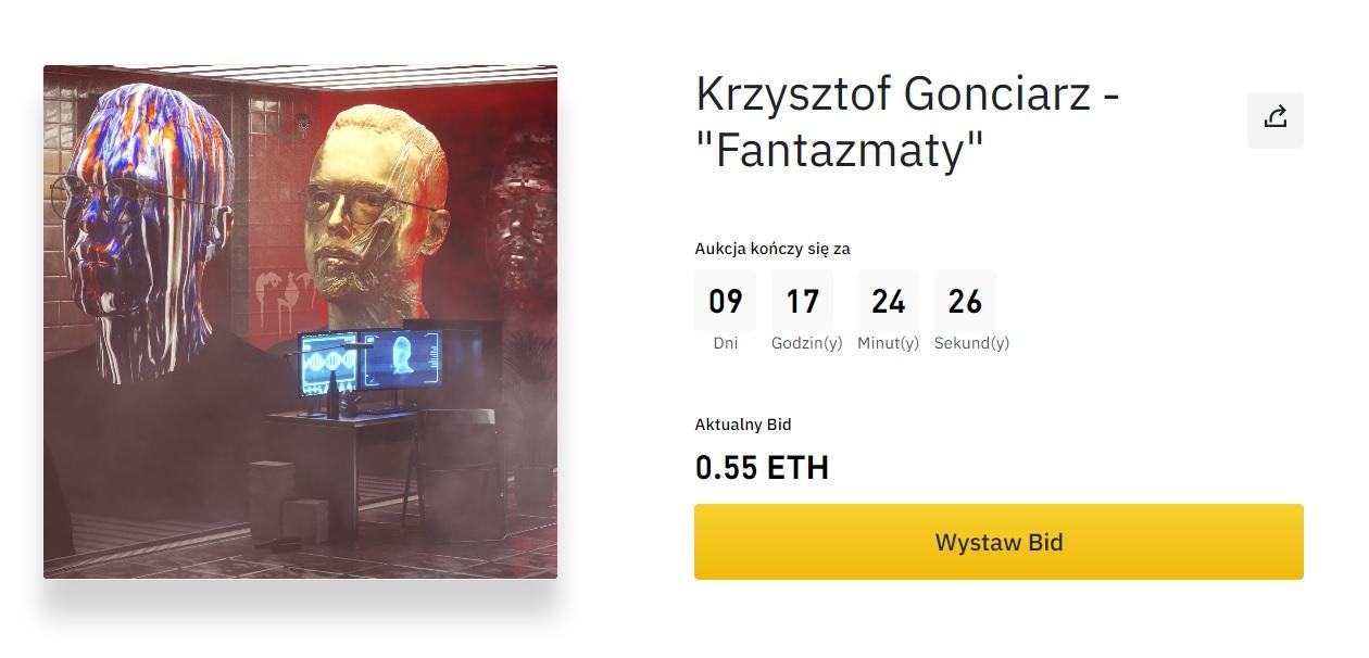 """Krzysztof Gonciarz - """"Fantazmaty"""""""