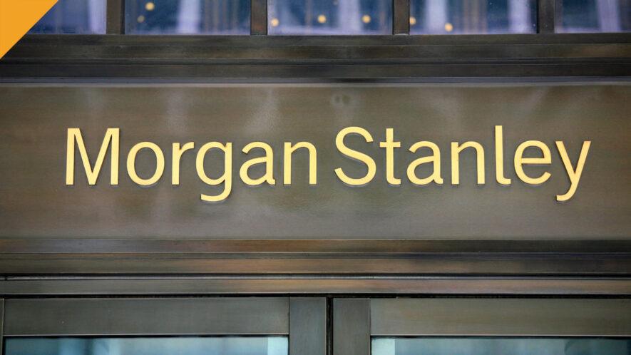 morgan stanley zainwestował w bitcoinowy fundusz greyscale