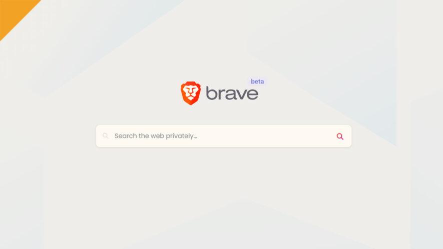Wyszukiwarka od Brave