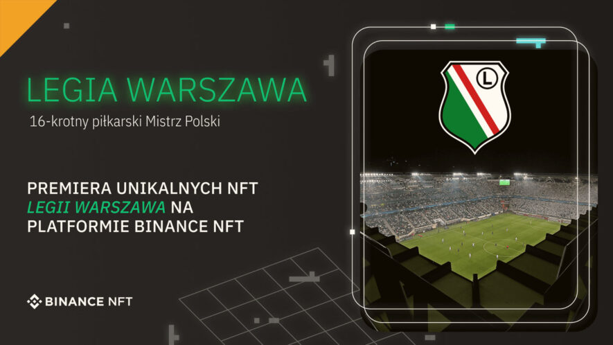 NFT od Legii Warszawa już na Binance