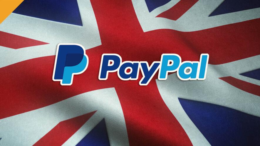 PayPal otworzy dostęp do kryptowalut dla Wielkiej Brytanii