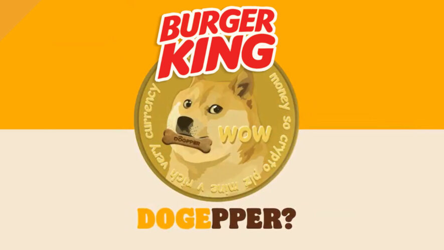 Brazylijski Burger King aakceptuje Dogecoin