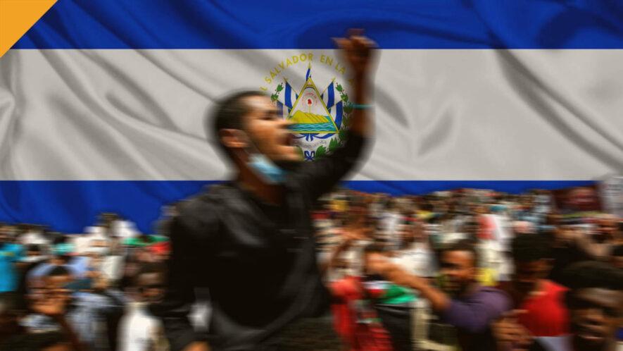 Protesty przeciwko przyjęciu BTC w Salwadorze