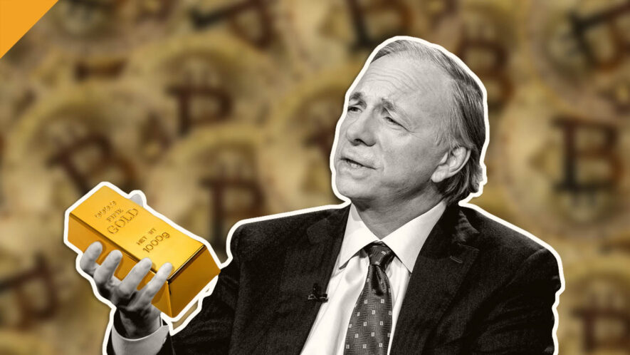 Ray Dalio wybiera złoto zamiast bitcoina