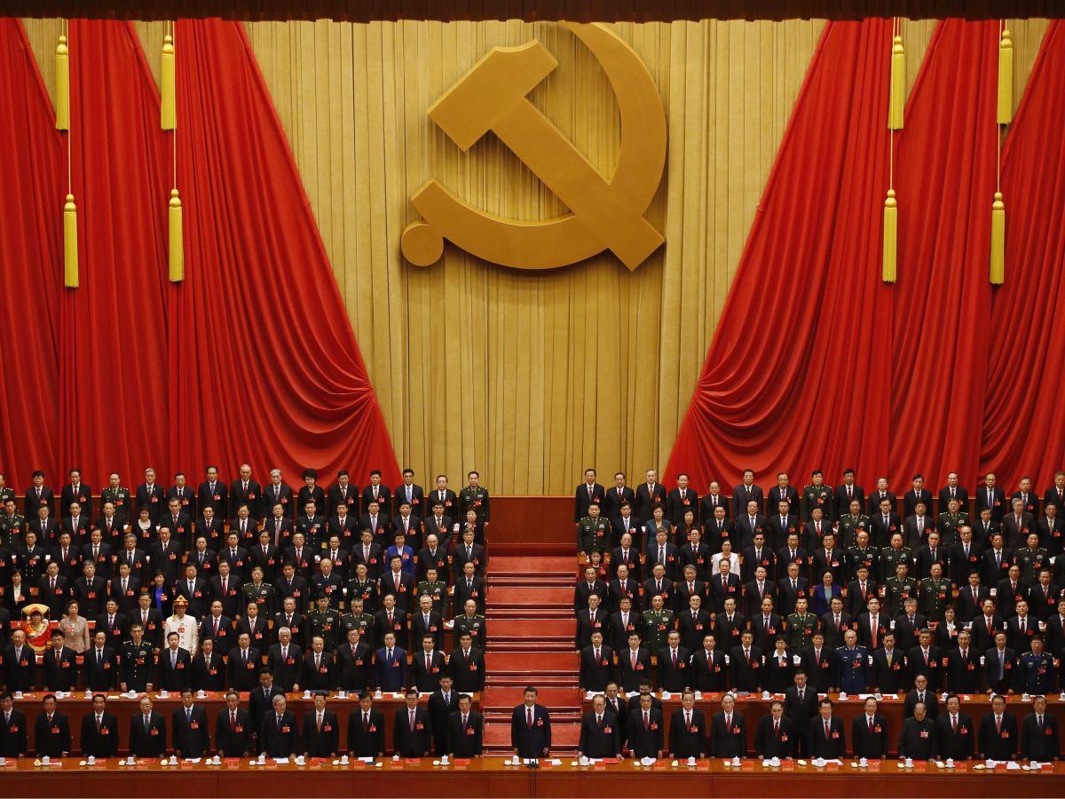 Wpływ komunistycznej partii Chin na blokadę kryptowalut