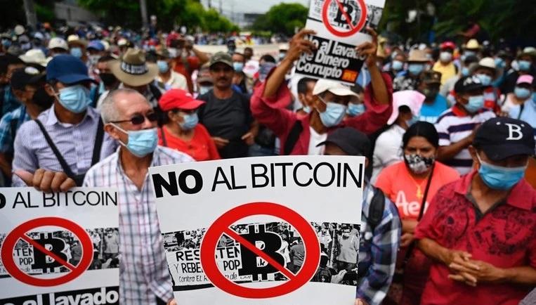 Protesty w Salwadorze