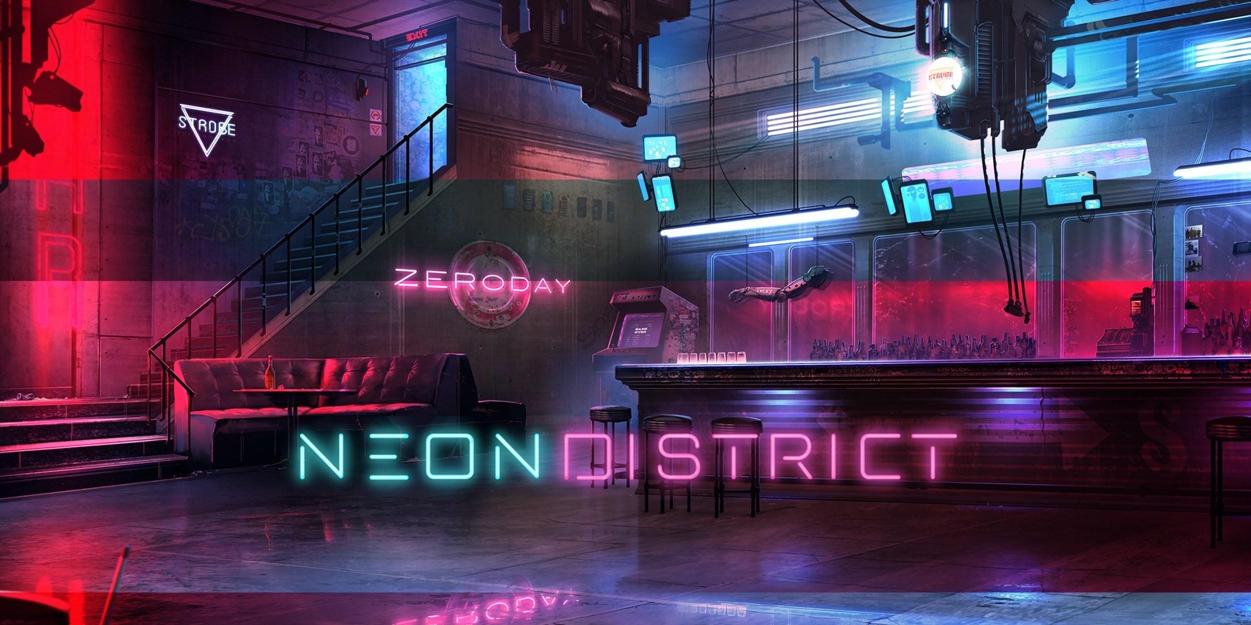 neon district