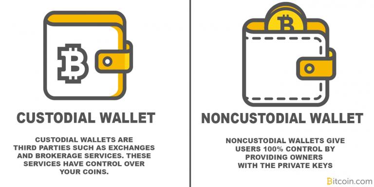 custodial vs non-custodial