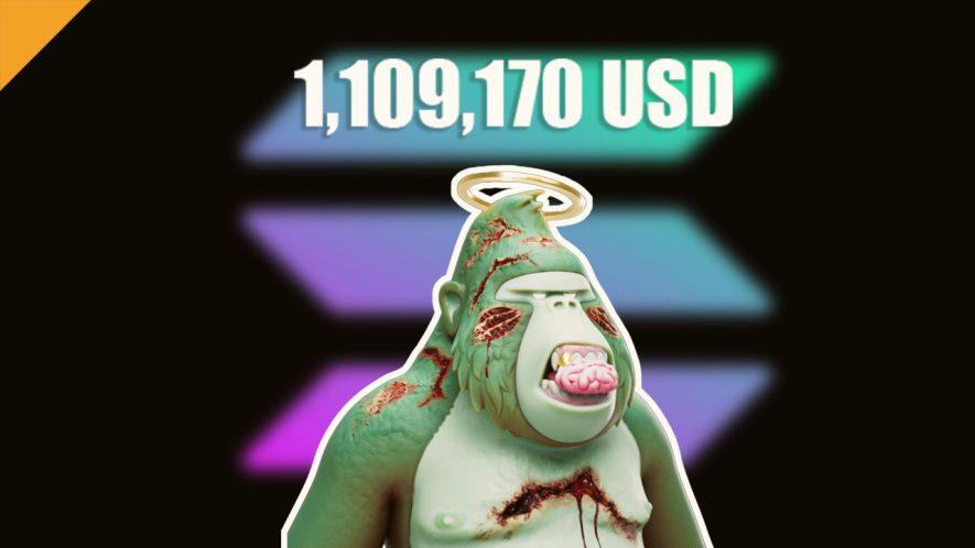 NFT na Solana sprzedany za ponad milion dolarów!